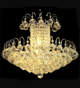 9 Light Crystal Chandelier