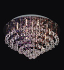 15 Light Crystal Cluster Chandelier