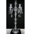 6 Light Crystal Table Lamp