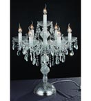 7 Light Crystal Table Lamp