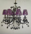 Shaded Black Duchess Chandelier