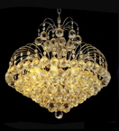 Hand Crafted Crystal Chandelier